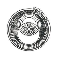 Spacetime Ouroboros (Naomi Walker Art) Tags: world art geometric circle print pattern time geometry snake circles space culebra scifi printmaking linocut particle astronomy block serpent atomic lhc atom circular quantum circulo blackwork astrophysics spacetime serpiente circulos linework ouroboros collider largehadroncollider quantummechanics scifiart hadron artistprint hadroncollider