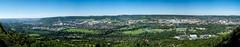 Jena Panorama obere Horizontale Sommer 2010 (der-aus-jena) Tags: panorama sommer jena kernberge a850 minoltaaf50f17 alpha850 oberehorizontale