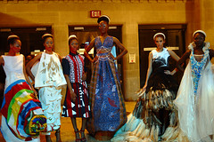 the models at the exit (Ian Muttoo) Tags: toronto ontario canada fashion model models gimp rom royalontariomuseum fridaynightlive ufraw chineduukabam fnlrom dsc53311edit watercarrymego