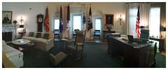 LBJ Oval Office (daveelmore) Tags: museum office library whitehouse reproduction ovaloffice lbj westwing lyndonbjohnson stitchedpanorama lyndonbainesjohnsonlibraryandmuseum mzuiko1442mm officeofthepresidentoftheunitedstates
