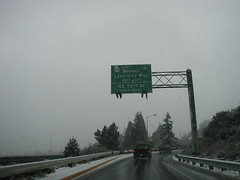 Bothell / Lake City Way / SR 522 exit (tackyspoons) Tags: seattle snow roosevelt mapleleaf roads lakecity interstate5 northseattle sr522
