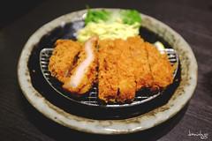 Tonkatsu (Daniel Y. Go) Tags: food fuji philippines japanesefood tonkatsu santouka x100t fujix100t