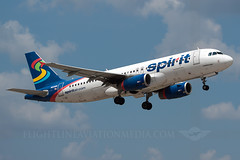 Spirit Airlines Airbus A320-232 N601NK (Flightline Aviation Media) Tags: airplane airport spirit aircraft aviation jet houston airbus airlines iah a320 stockphoto kiah a320232 georgebushintercontinental canon50d bruceleibowitz n601nk flightlineaviationmedia 2690153