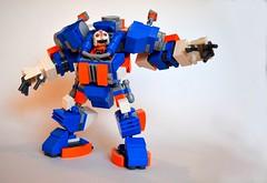 Lego mech MOC (legolover22) Tags: lego mecha mech moc hardsuit