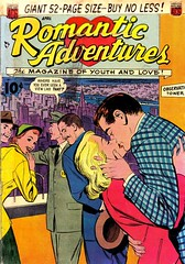 Romantic Adventures 20 (Michael Vance1) Tags: woman man art love comics artist marriage romance lovers dating comicbooks relationships cartoonist anthology silverage