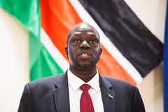 Launch of the Humanitarian Response Plan (Albert Gonzalez Farran) Tags: southsudan un aid unitednations assistance humanitarian ngo ocha hrp humanitarianaid juba centralequatoria unagencies