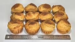 Food Porn:  Big Ass Corn Bread Muffins (Oliver Leveritt) Tags: food muffins big flash whitebackground foodporn cornbread lifeisgood speedlight cls sb800 offcameraflash abetterbouncecard creativelightingsystem nikoncls su800 su800wirelessspeedlightcommander afsnikkor2470mmf28ged oliverleverittphotography nikond610