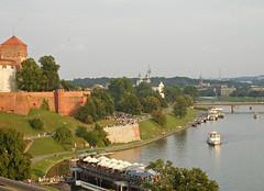 Vistula River (Polish: Wisa) (kenjet) Tags: city building castle architecture river europe poland krakow wawel bank structure krakw cracow banks wisa vistula wisla wawelcastle vistulariver wislariver wisariver