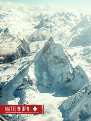 Matterhorn | Switzerland (MusesTouch - digiArt & design) Tags: mountains matterhorn swissmountains iphonography joannaortynska musestouch mountainsbirdperspective