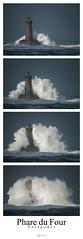 pospoder - le Four (philippe MANGUIN photographies) Tags: lighthouse four bretagne vague phare tempete finistere pharedufour porspoder
