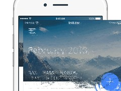 Calendar View  Material Design #FREEBIE (ijstheedribbble) Tags: inspiration apple design tv graphic screensaver popular dribbble iftt
