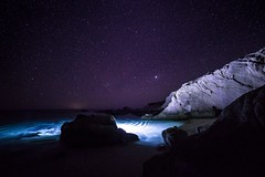 Playa Arbolitos (Bravo Fotografia) Tags: mxico night stars noche nightscape playa estrellas mexique baja bajacaliforniasur