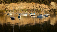 Embarcadero (Diego Serra) Tags: puerto lago agua barcos calma mueble