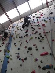 nearly there (Mr Kiki) Tags: birthday white london wall spider indoor climbing bouldering