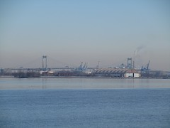 IMG_8759 (jacorbett70) Tags: bridge philadelphia skyline river newjersey nj delawareriver