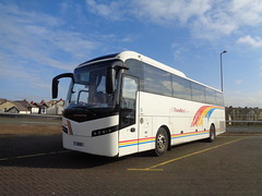 UD1100 Travellers Choice at Blackpool (j.a.sanderson) Tags: volvo coach travellers choice shaw blackpool coaches jonckheere carnforth shv b12b ud1100 fn09hgm