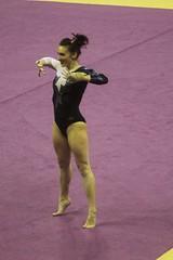 Alex Yacalis floor (4) (Susaluda) Tags: uw sports gold washington university purple huskies gymnastics dawgs