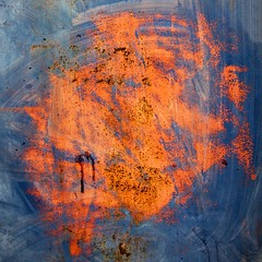 Compte  rebours (Gerard Hermand) Tags: door paris france metal canon rust paint peinture porte mtal rouille formatcarr eos5dmarkii gerardhermand 1203319302