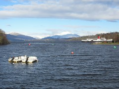 Loch Lomond View (neilwhite483) Tags: winter benlomond lochlomond paddlesteamer maidoftheloch scottishscenery buoyant beautifulscottishweather