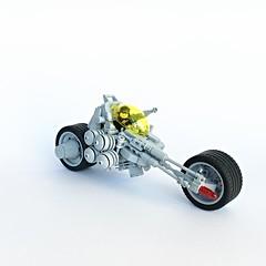 LL 204 - NCS Long Range Motorbike (Chiefrocker9000) Tags: lego space motorbike slug ll ncs utterlyridiculous legospace classicspace neoclassicspace longrangemotorbike