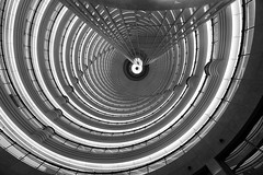 Twisted reality (JohnNguyen0297) Tags: bw lines ouch spiral shanghai sony curves grandhyatt upshot neckpain 1018mm a6000 sel1018 ilce6000 johnnguyen0297