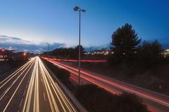 Rush Hour (alex notag) Tags: longexposure marseille highway autoroute fil poselongue