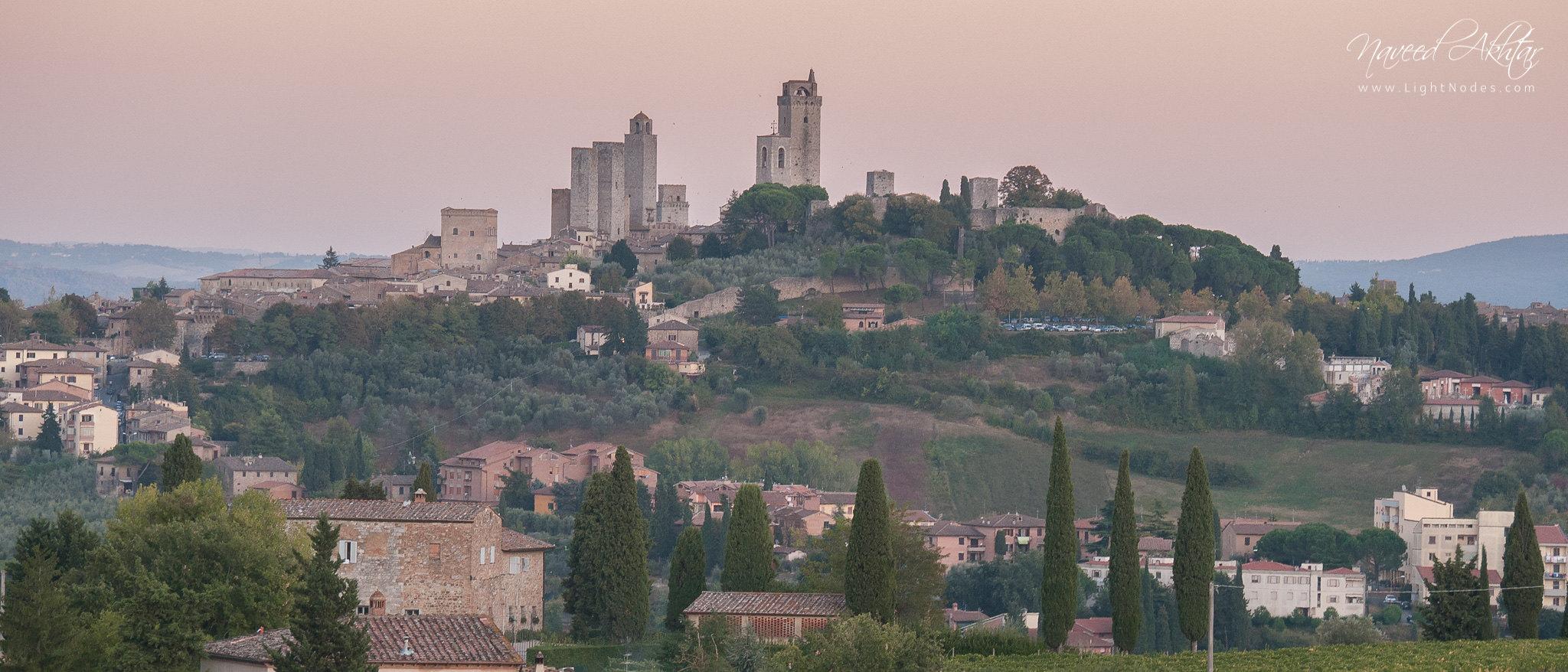 San Gimignano (Medieval Manhattan) of Tuscany with Panasonic DMC-GH1