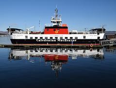 MV Loch Bhrusda at Rothesay Harbour (Russardo) Tags: ferry scotland clyde mac harbour cal loch isle calmac mv caledonian bute rothesay macbrayne bhrusda
