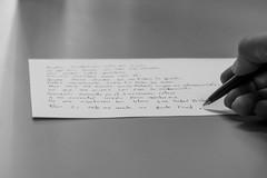 """""""para ti solo me queda un punto final"""" (sierra.oe87) Tags: punto final mano soledad papel inicio lapicero"""