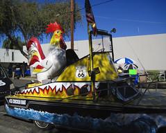 The Official Chicken Boat at the 2015 Doo Dah Parade (Robb Wilson) Tags: pasadena paradefloat doodahparade chickenboat 2015doodahparade