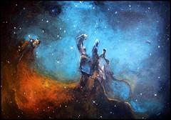 Messier 16 (Iwona Blasi) Tags: sky eagle space nebula m16 serpens
