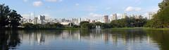 Ibirapuera Park (Serghei Zadorojnai) Tags: park brazil lake saopaulo 2012 panoram ibirapuerapark 201204 20120414