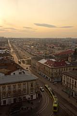 Horodotska Street (tarmo888) Tags: vertical vanishingpoint aerialview lviv ukraine special lvov  lww lemberg  lwow leopolis ukrayina photoimage  sooc sonyalpha  autohdr sony geosetter  geotaggedphoto nex7 sel18200 foto year2016