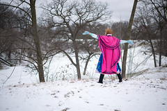 Anna at the Falls -9 (YGKphoto) Tags: park winter anna snow cold minnesota frozen costume cosplay outdoor minneapolis disney minnehaha