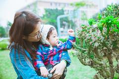 Sunday morning (imsuri) Tags: china boy green canon child bokeh chinese mother chinadigitaltimes