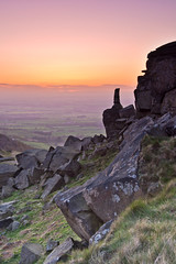 The Wainstones at sunset. (paul downing) Tags: sunset nikon 12 filters hitech clevelandhills wainstones northyorkshiremoors gnd pd1001 greatbroughton pauldowning d7200 pauldowningphotography