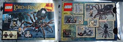 The Lord of the Rings/Le seigneur des Anneaux Lego (beudoing) Tags: lego lord collection rings hobbit seigneur anneaux