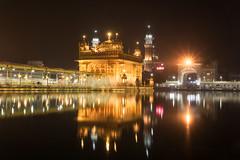 Golden Temple (Ashmalikphotography) Tags: longexposure nightphotography reflections religion amritsar sikhism goldentemple waheguru incredibleindia loveforgod madforphotography