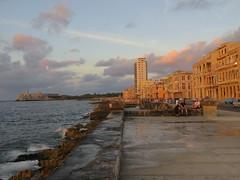 Malecn in the sunset glow (Sean_Marshall) Tags: havana cuba malecn lahabana