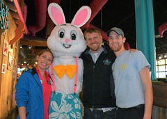 Rachel Ellis, Mike Butler & Justin XX-LuLu's Easter 2016