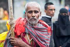 7D9_1030 (bandashing) Tags: street old portrait england man black manchester sharif shrine dof blind hijab pole stick niqab depth sylhet bangladesh mentalhealth socialdocumentary burkah mazar dargah aoa shahjalal bandashing akhtarowaisahmed