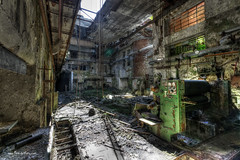 Factory Main Hall (Fine Art Foto) Tags: urban abandoned paper decay urbandecay heavymetal forgotten urbanexploration rotten derelict decaying urbex paperfactory lostplaces oldindustry lostplace