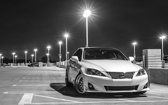 _DSC3248 (CheezyCheeto) Tags: white lake cars car wheel docks sedan boat is dock pond parking low wheels drop structure turbo cal launch pomona rim rims genesis hyundai poly coupe lowered dropped puddingstone imports lexus cpp launching is350 20t is250 purist purists importscpp