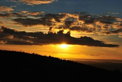 Cratloe hill (agamatuszczak) Tags: ireland sunset spring hill countyclare