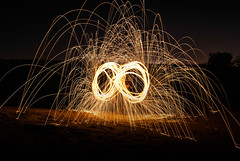 Light Painting (navidmaz) Tags: longexposure light art wool night painting photography photo dubai steel