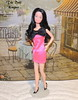 Barbie Snowprincess in Pink Bow Dress (The doll keeper) Tags: pink black hair dress barbie bow superstar snowprincess