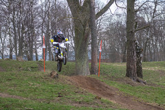 Enduro race - Jump (Infomastern) Tags: race contest mcdonalds motorcycle enduro motorcykel tävling lopp revingehed fmck fmckmalmö