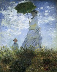 Woman with Parasol Claude Monet (Greenbelter) Tags: