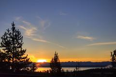 Morning in Yellowstone (Chief Bwana) Tags: lake sunrise yellowstonenationalpark yellowstone wyoming nationalparks mountainlake wy yellowstonelake psa104 chiefbwana