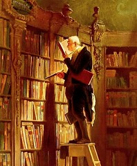 Carl Spitzweg  The Bookworm  1850  Museum Georg Schafer, Schweinfurt, Germany (Readers in art) Tags: germany 1850 carlspitzweg schweinfurt thebookworm museumgeorgschafer